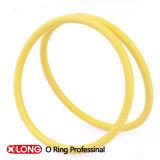 Joint circulaire rouge adapté aux besoins du client de silicone de catégorie comestible