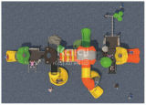 Strumentazioni di plastica commerciali esterne favorite del campo da giuoco del mare di Kaiqi dei bambini variopinti di navigazione con le varie trasparenze