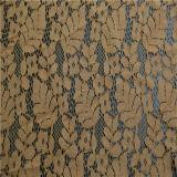Tessuto africano del merletto dei vestiti del cotone del voile/tessuto di /Textile merletto del Crochet