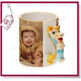 Le cerf commun mignon conçoit la tasse 3D en céramique pour la sublimation par Mejorsub