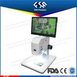 FM-Hrv 영상 현미경은 하나에서 입체 음향 현미경 디지털 현미경 HD 모니터를 전부 통합한다