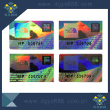 カスタム安い機密保護レーザーのホログラムのラベル