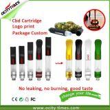ロゴの習慣の漏出EのタバコのCbdオイルの蒸発器無し