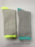Chaussettes de Stripes Cotton Winter Long de Madame (PTLS16040)