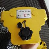 2t handKarretje voor het Elektrische Hijstoestel van de Ketting