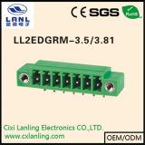 Ll2edgrm-3.5/3.81プラグイン可能な端子ブロックのコネクター