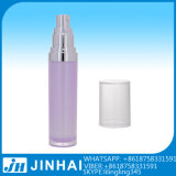 De mooie Vierkante Plastic Kosmetische Fles Zonder lucht van de Pomp van de Lotion voor Vrouwen