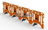 Legs를 가진 플라스틱 Road Safety Gate Work Barrier