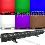 30W X 14PCS impermeable Edificio Wash LED RGB arandela de la pared