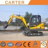 Multifunktionslöffelbagger-Gleisketten-Miniexkavator der Carter-heiße Verkaufs-CT45-8BS (4.5t)