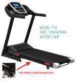 2.0HP Small Running Machine、Motorized Treadmill (F18)