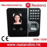 Impressão digital de Realand e sistema biométricos do comparecimento do tempo do reconhecimento de face