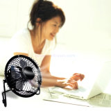 Beweglicher USB Charging Electric Fan Table Desk Fan für 4-Inch Tablet/MacBook/iPad