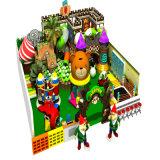 Cidade inflável do divertimento do equipamento do campo de jogos dos miúdos do projeto novo