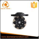 La flèche segmente la roue de cuvette de diamant pour le béton