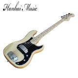 Guitare basse électrique de musique de Hanhai/4 chaînes de caractères