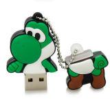 Carte mémoire Memory Stick 64G Shaped de dinosaur frais de Yoshi 4G Mario de dessin animé de lecteur flash USB de Mario