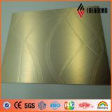 Ideabondの1220*2440mm浮彫りにされたアルミニウムプラスチック合成のパネル(EM- 013)
