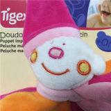 Doudoのパペット道化師かわいいくまの表面幼児心配の洗浄毛布