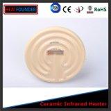 calefator de faixa industrial infravermelho cerâmico do bulbo 300W