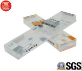 De UV Druk die van de Compensatie Plastic Doos, Foadable PVC/Pet/PP vouwen ontruimt Verpakkende Afgedrukte Dozen, Verpakkende Doos Transpaernt
