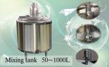 Réservoir de mélange revêtu de fossette