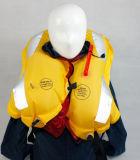 Único revestimento de vida inflável marinho da câmara de ar