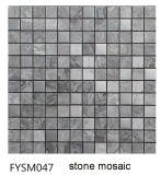 Mattonelle di pavimento di pietra di marmo naturali del mosaico di colore Mixed del materiale da costruzione (FYSSC225)