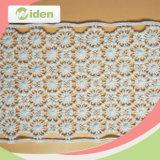 높은 생산력 최대 대중적인 디자인 꽃 레이스 면 화학제품 레이스