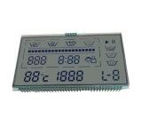 Visualización del LCD del sensor de temperatura de Tn/Stn