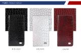 Helle echtes Leder-Luxuxmappe für Männer