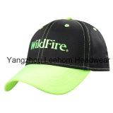 Изготовленный на заказ неоновый бейсбольная кепка приспособленная флуоресцированием