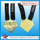Medailles van uitstekende kwaliteit van de Marathon van de Medailles van het Metaal de Vierkant Gevormde