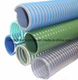 Boyau transparent d'aspiration de l'eau de poudre de PVC