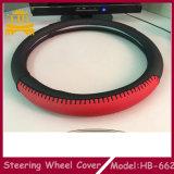 Специальный PVC с крышкой рулевого колеса автомобиля Stiching