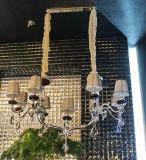 Hängender Innenkristalldekoration-Leuchter mit Gewebe-Farbton