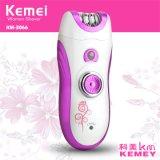 Kemei3066 nuevos 6 en 1 señora de múltiples funciones Beauty Care Shaver y Epilator con la máquina limpia del cuidado facial eléctrico
