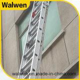De aluminium Gegroefte Ladder van de Combinatie van Sporen Telescopische