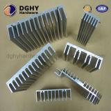 Dissipador de calor de alumínio da extrusão com fazer à máquina do CNC feito em China