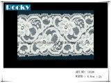 Lacet de garniture de guipure du blanc 16.5cm pour Madame Underwear