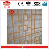 Matériau de construction décoratif en bois creux de mur rideau de guichet des graines (Jh164)
