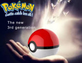 Le côté portatif Pokemon de pouvoir vont projection de Pikachu pour le côté de pouvoir de téléphone mobile du tiers