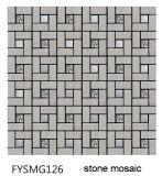 2016 Última mosaico de piedra de la pared del edificio (FYSG049)