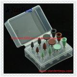Compuesto de goma que pule el kit dental para Handpiece de poca velocidad (RA)