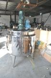 Acero inoxidable Steame que calienta el tanque de homogeneización gordo