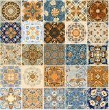 Azulejo esmaltado rústico de la porcelana de la pared del piso del suelo de entarimado (GD605)