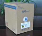 Trança de alumínio de proteção dobro interna do cabo de LAN +Copper da rede do gato 5e SFTP (ERS-1553252)