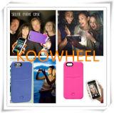 iPhone5se iPhone5 iPhone6 iPhone6s를 위한 가장 새로운 LED 가벼운 Selfie 전화 상자 플러스