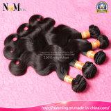 da onda chinesa não processada do corpo dos pacotes do cabelo humano de Remy da classe 9A cabelo ondulado do Virgin