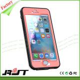 Cas imperméable à l'eau de téléphone cellulaire de qualité pour l'iPhone 6 6s